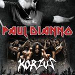 Paul Di'Anno e Korzus se apresentam neste domingo em São Paulo