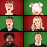 Paul McCartney e Jimmy Fallon cantam 'Wonderful Christmastime'