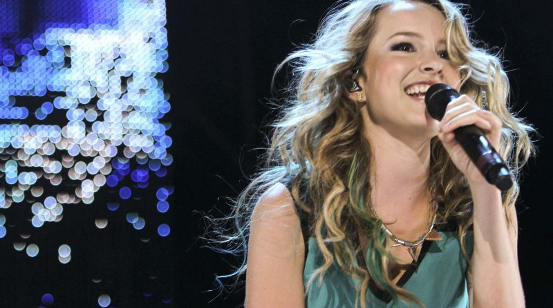 TORONTO, ON - AUGUST 26:  Bridgit Mendler performs at the Family Channel's Big Ticket Summer Concert at Molson Amphitheatre on August 26, 2012 in Toronto, Canada.  (Photo by George Pimentel/WireImage)
