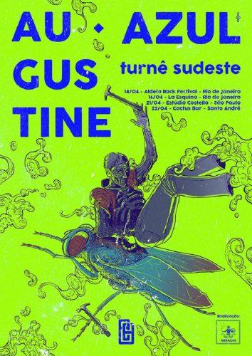 Augustine Azul cartaz