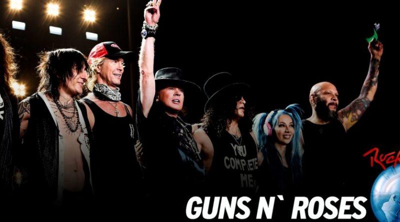 guns rock in rio