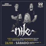 Nile no Brasil: apresentação única ocorre no sábado (26/08)
