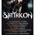 Satyricon: shows no Brasil acontecem essa semana