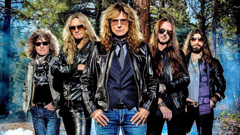 Whitesnake a todo vapor em 2019: nova faixa, novo álbum, remix de sucesso e acerto com Rock In Rio 2019!